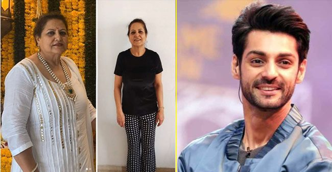 Karan Wahi's mother loses 18 kg weight during the lockdown, actor shares her inspiring story