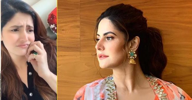 Zareen Khan shares a funny TikTok video amid the lockdown and it's perfectly relatable; Watch