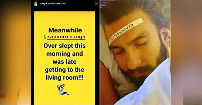 Deepika sleeps on the couch to cut the 'commute', shares her routine featuring hubby Ranveer