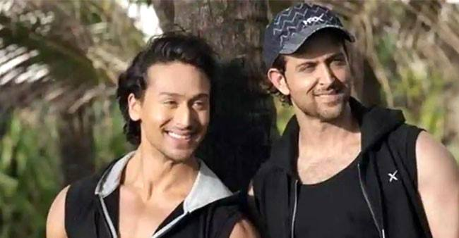 Tiger Shroff shares a backstory from Baaghi 3, Hrithik Roshan comments 'watching this tonight'
