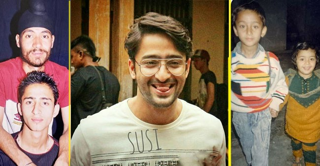 Shaheer Sheikh trips down memory lane, shares 'old is gold' pics from his school days