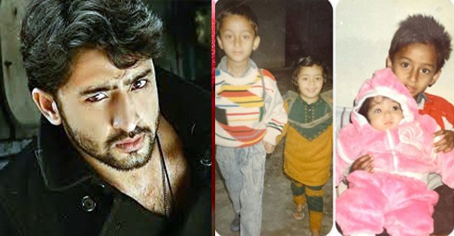 Shaheer Sheikh trips down memory lane as he shares adorable childhood pics with his sisters