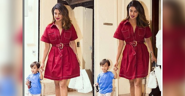 Priyanka's throwback pic with Salman's nephew Ahil is full of happiness; Check out