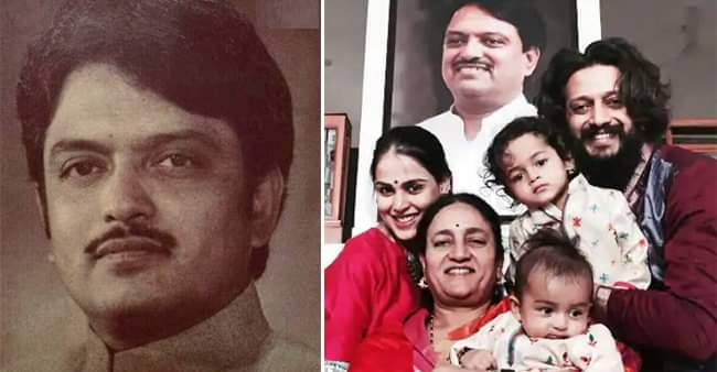 Riteish Deshmukh and Genelia D'Souza reminisce their father Vilasrao Deshmukh on his 75th Birth Anniversary