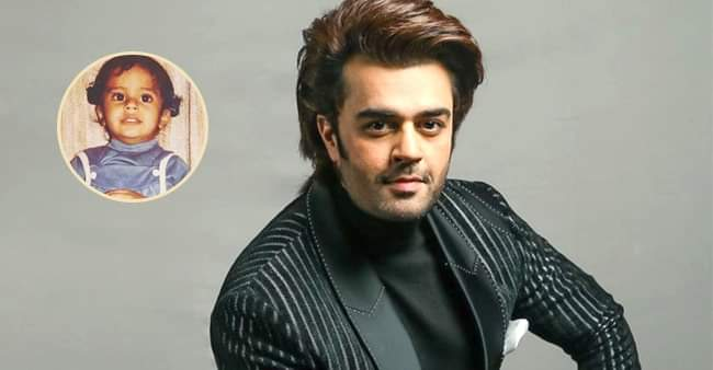 Actor-host Maniesh Paul in his throwback picture with two hair buns looks enchanting