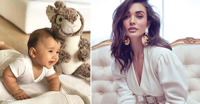 Amy Jackson shared a video of her son mentioning him as 'lockdown buddy'