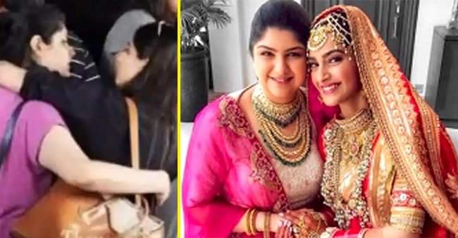 Boney Kapoor's daughter Anshula Kapoor shared a throwback picture of her with cousin Sonam Kapoor
