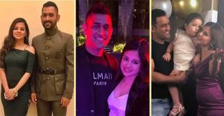 Sakshi Dhoni shares a cute and funny candid snap of hubby MS Dhoni