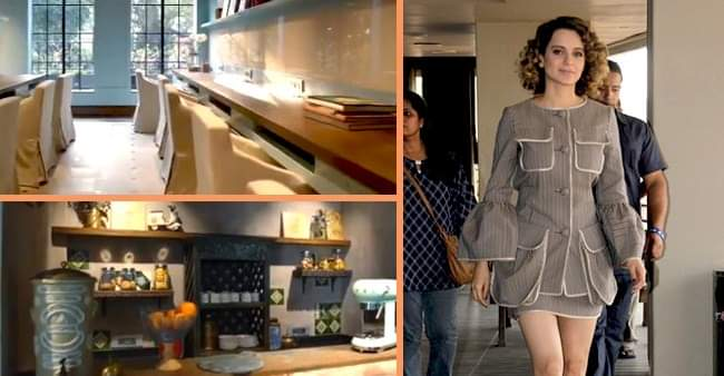 Kangana Ranaut shares her views on her newly built Production house office at Pali Hill