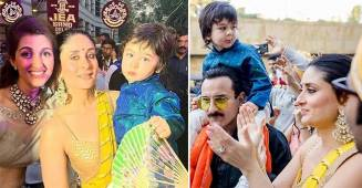 Taimur Ali Khan's Pics From 'Mamu' Armaan Jain's Wedding Are Too Delightful To Miss!