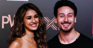 Tiger Shroff dances on Justin Bieber's song, Yummy; Disha Patani pours love on her hero