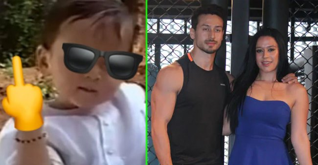 Krishna Shroff shares brother Tiger's adorable childhood pic with a hilarious twist; Check out