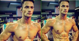 Bigg Boss 13 fame Asim Riaz flaunts his toned body after an intense workout session; Pic