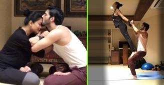Sushmita Sen recreates romance with BF Rohman Shawl in her new workout video; Check out