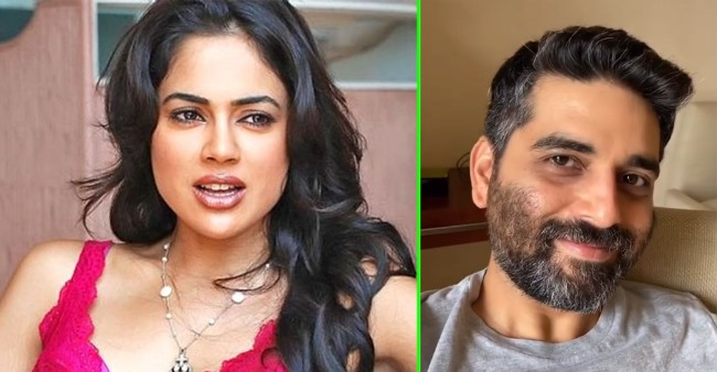 Sameera Reddy gives a haircut to hubby amid lockdown and his reaction is every husband ever