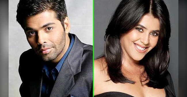 Karan Johar wishes B'day to BFF Ekta Kapoor with a special note, her reply wins every heart