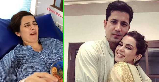 Sumeet Vyas shares a fun video of wife Ekta as she is only allowed to eat veggies post delivery