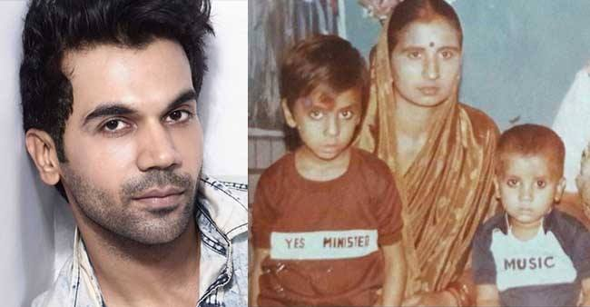 Rajkummar Rao looks cute as a button in this childhood picture with mother; Check out