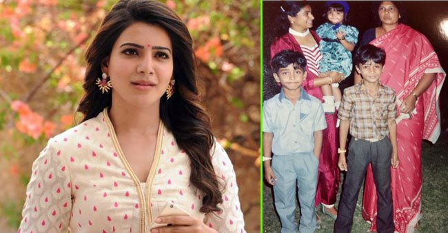 Samantha Akkineni trips down memory lane, shares an adorable childhood pic; Check out