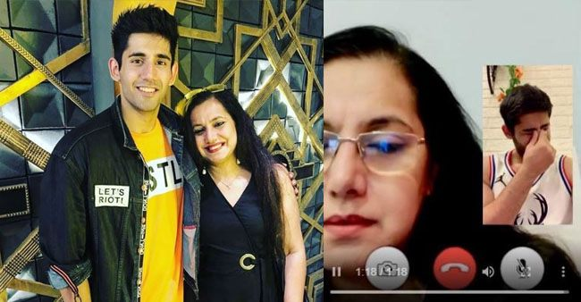 Actor Varun Sood's video call with his mother Anjali is innocently relatable; Watch