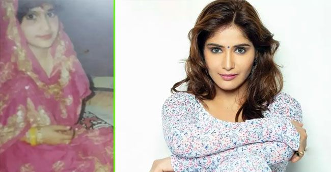 Arti Singh shares her childhood pic in 'bridal avatar', captions 'bachpan se hi ready'