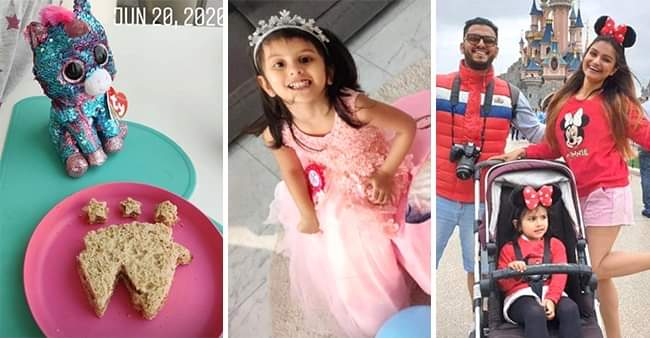 Dimpy Ganguly got a surprise 'Unicorn-themed' party for her daughter Reanna Roy