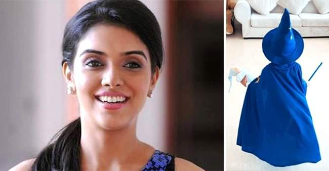 Actress Asin Thottumkal's daughter Arin turns 'Wizard'; actress shares a picture of the cutie pie