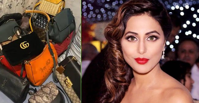 Hina Khan's mother scolds her for not taking care of 'luxury bags', shares pic of her expensive collection