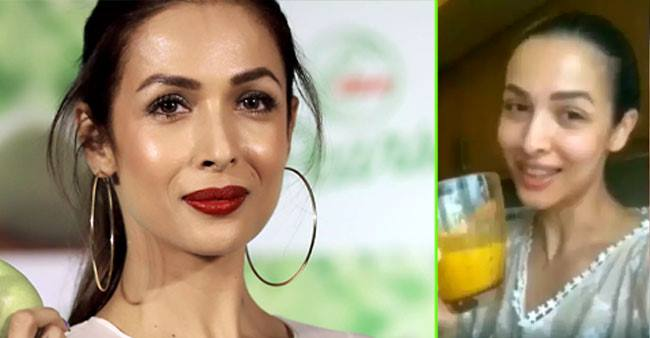 Malaika Arora shares a healthy juice recipe that has been keeping her fit during the outbreak; Watch