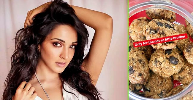 Kiara Advani gets a hand-written thank you letter from brother as she makes the 'best dessert' for him