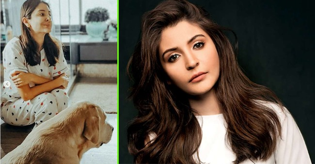 Anushka Sharma and her cute furry friend taking over the internet with one paw