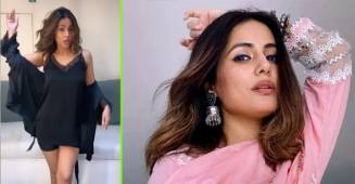 Hina Khan's hot moves are a treat to her Instagram fam