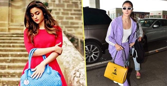 Alia Bhatt sporting her expensive and luxurious retail therapy in gorgeous bags