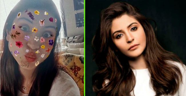 Looks like Anushka Sharma's fun filter game is winning over her fans' hearts