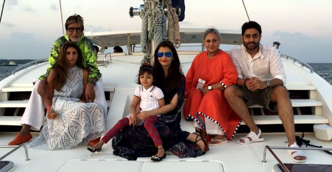 The time when Abhishek Bachchan's 40th birthday was celebrated on a yacht