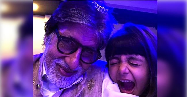 Amitabh Bachchan and granddaughter Aaradhya's cute selfie taking over the internet