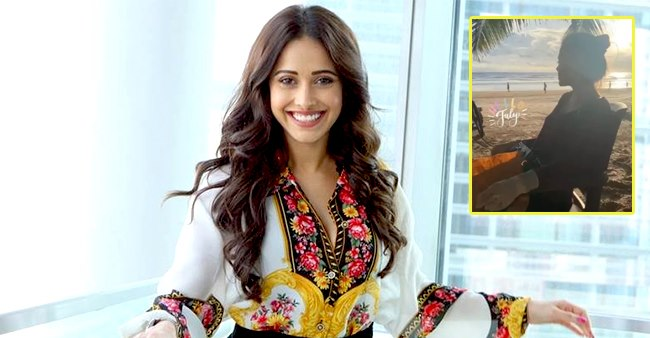 Nushrat Bharucha Welcomes July With A Beautiful Pic Enjoying At The Beach