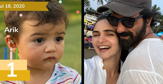 Daddy Arjun Rampal Introduces Son Arik To The World On His 1st Birthday; Shares Adorable Pics