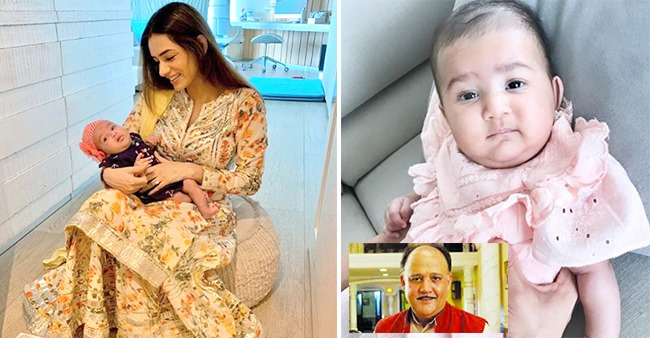 Smriti Khanna Shares Pic Of Baby Anayka With Hilarious Caption; Calls Her 'Mr Alok Nath'