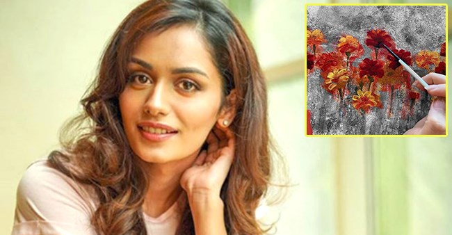 Painting Is My Form Of Therapy, Says Manushi Chhillar