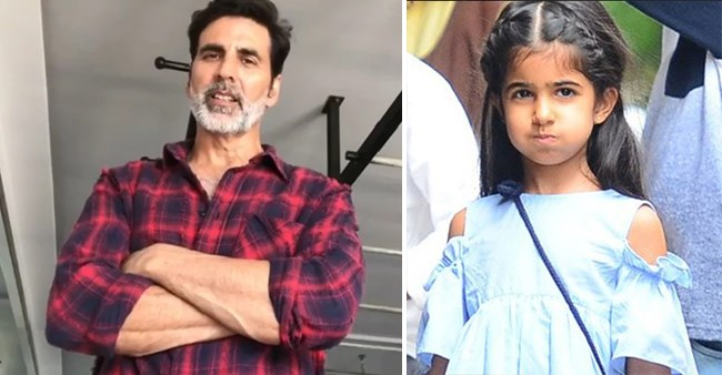 Akki's Daughter Nitara Teaches Him Playing With Expressions In A Cute Throwback Video
