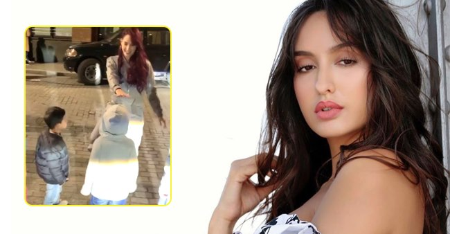 Dilbar Queen Nora Fatehi Treats Her Fans With A Throwback Video From The Sets Of 'Street Dancer 3D'