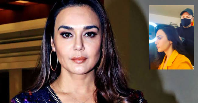 Preity Zinta Shares A Boomerang As She Restarts Work After Lockdown Break, Feels So Excited
