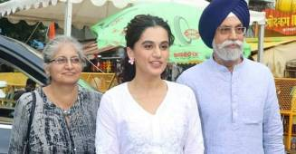 Taapsee Pannu shared her throwback picture with sister and mom giving her 'constant and consistent expressions'