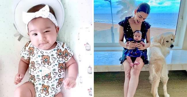 Smriti Khanna's daughter Anayka loves to play with her 'tasty thumb',  internet gushes over her cuteness