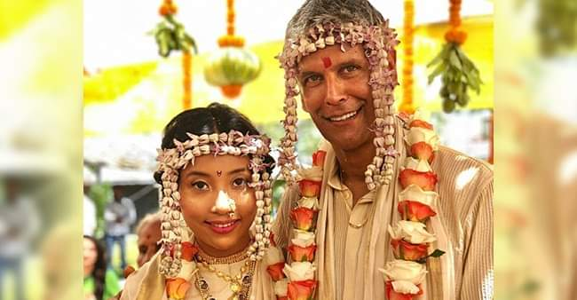 Milind Soman shares an unseen video dancing with Ankita Konwar from their wedding day