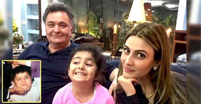 Riddhima Kapoor Sahni Shares The Cutest Ever Throwback Pic Of Her Dad Rishi Kapoor