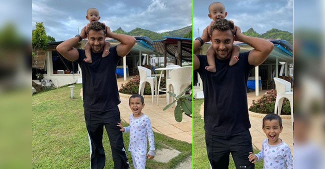 Adorable Pics Of Sallu's Nephew Ahil & Niece Ayat Are Simply Unmissable