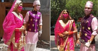 Newly Weds Manish Raisinghan & Sangeita Share Some Beautiful & Candid Unseen Pics From Their Wedding Diaries