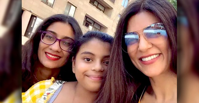 Sushmita Posts Dance Video Of Daughter Alisah With Her Bestie; Enjoy